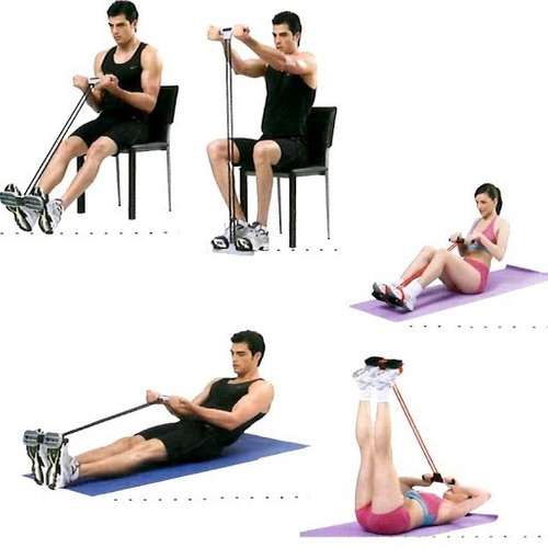 banda fit elástica para ejercicios multifuncion body trimmer