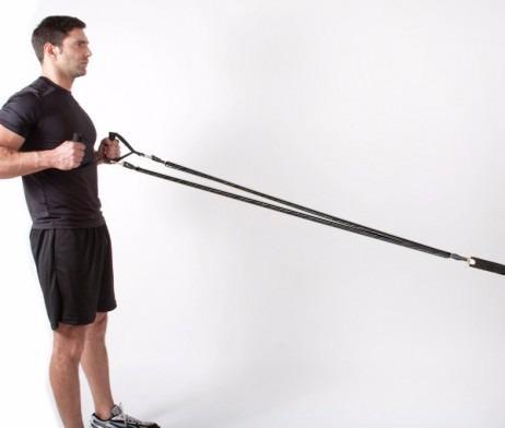 banda funcional negra alta tensión gym  sport functional anclaje