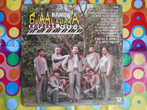 banda guadalajara express lp baraja de oro