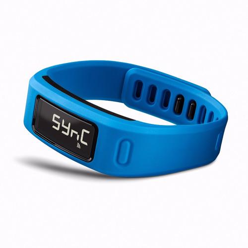 banda inteligente garmin vivofit 2 fitness smart band azul