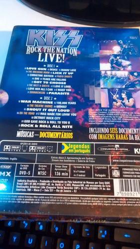 banda kiss show ao vivo - rock and roll - dvd novo lacrado