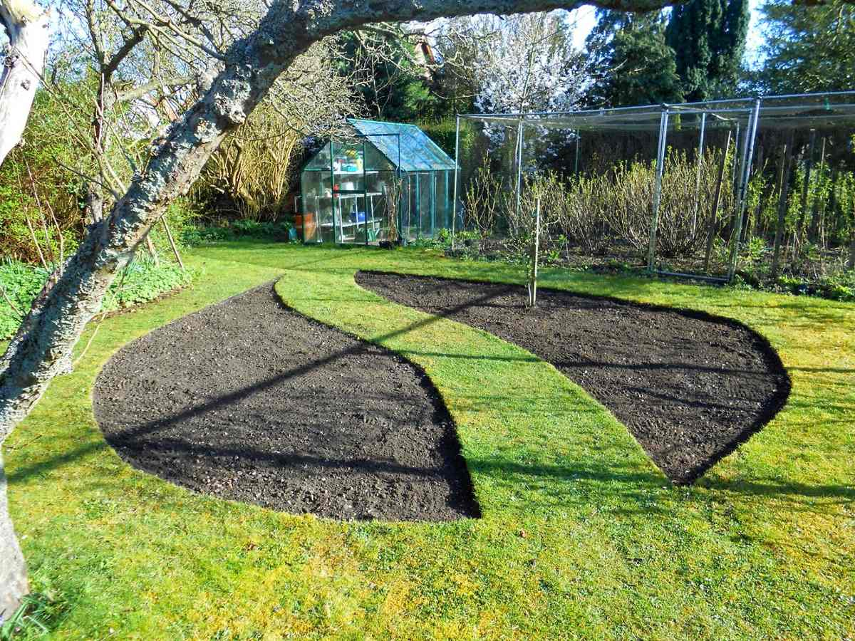 Banda limitadora de c sped en jardines canteros caminos for Canteros de jardin