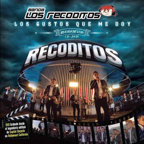 banda los recoditos los gustos que me doy deluxe cd + dvd