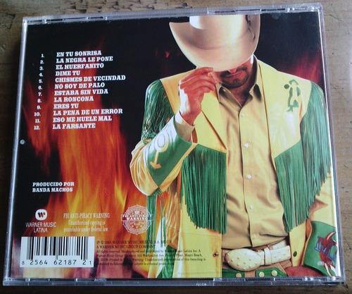 banda machos alma de fuego cd raro hecho en u.s.a. en 2005