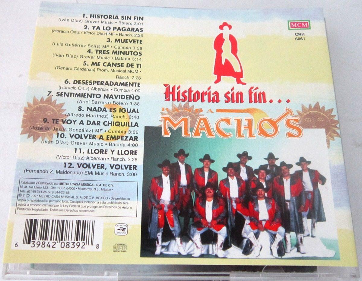 Banda Machos - Historia Sin Fin Lyrics | Musixmatch
