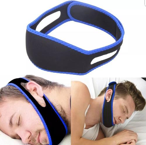 banda mascara anti ronquidos apnea del sueño unisex