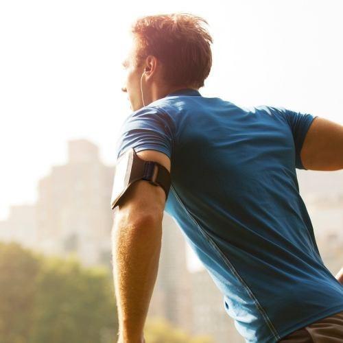 banda o brazalete deportivo ajustable para celulares