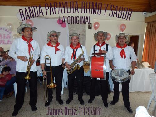 banda papayera ritmo y sabor la original 3112975081