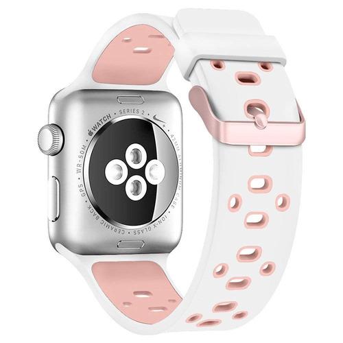 banda para manzana reloj de 42 mm, alritz silicona deporte c