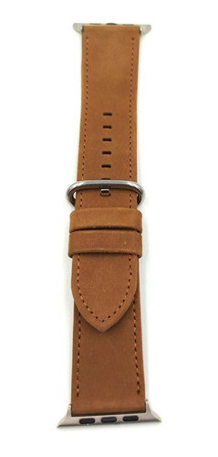 banda para reloj 42mm watch band series 3 2 1 cafe