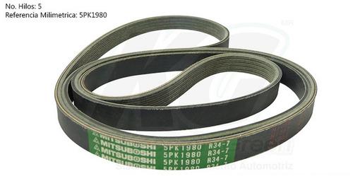 banda poly-v saturn sl2 / sw1 / sw2 l4 1.9l  1992 - 2002 xkp