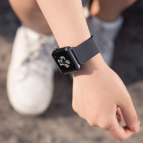 banda reloj apple iwatch correa pulso 38mm serie 1 2 3 negro