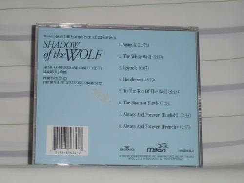 banda sonora de: la sombra del lobo (1992) - made in u. s. a