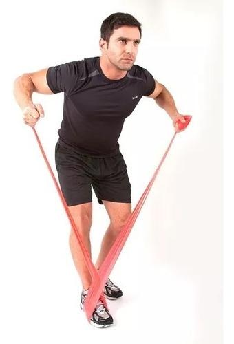 banda theraband elastica latex tension baja resistencia
