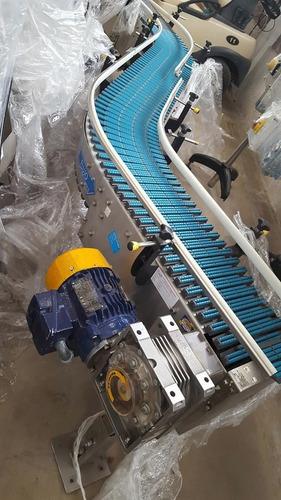 banda transportadora curva 30 cm de ancha x 3.30 de largo