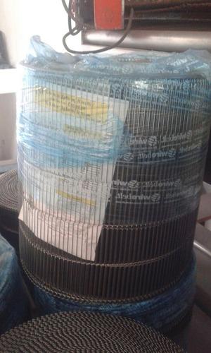 banda transportadora de malla en acero inox. rollo completo