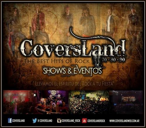banda tributo rock internacional covers evento shows fiesta