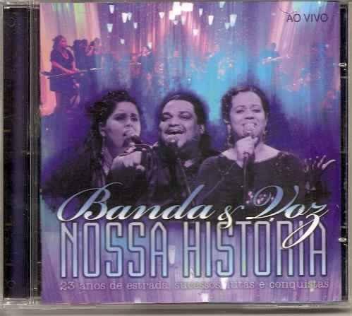 banda & voz nossa história ao vivo raridade cd