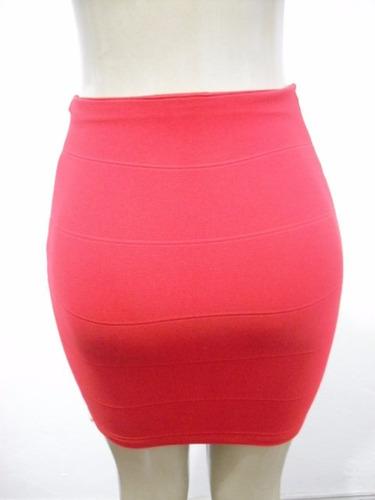 bandage curta saia feminina