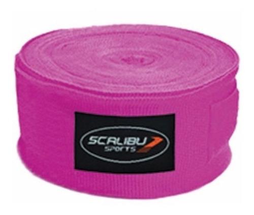 bandagem atadura algodão (rosa) boxe muay thai kickboxing