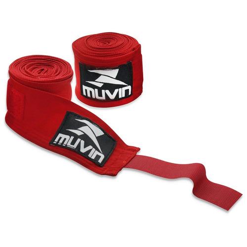 bandagem atadura elástica 5 metros muay thai boxe muvin