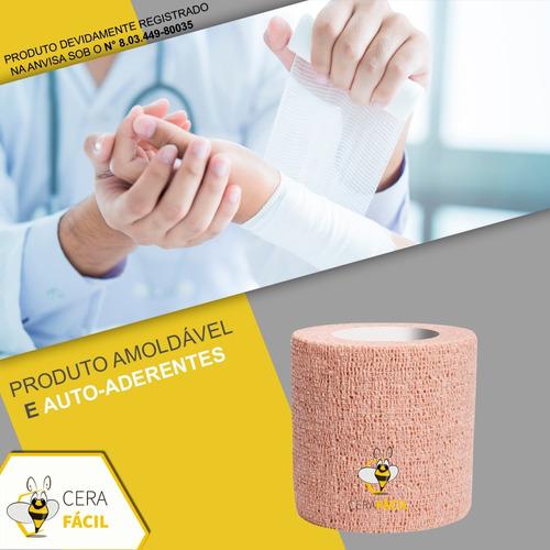 bandagem atadura elástica 7,5cmx4,5mt
