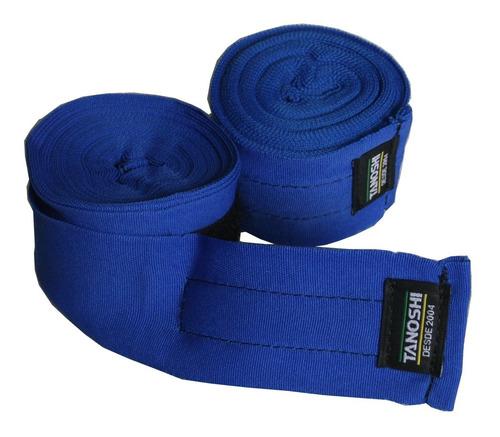 bandagem elástica 5 metros muaythai boxe sanda tanoshi