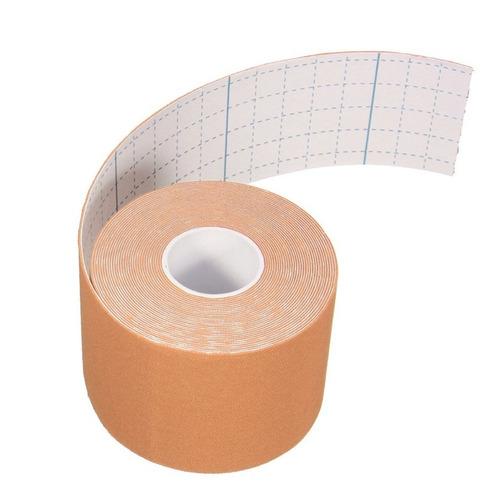 bandagem elástica 5cm x 5m - fita kinesio tape fisioterapia