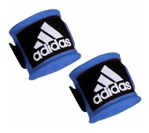 bandagem elastica adidas azul 2,55m 5cm envio imediato