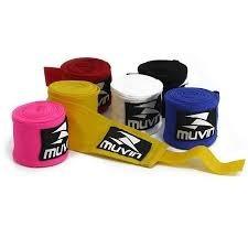 bandagem elástica lutas muvin 300 x 5 cm 3 metros atadura