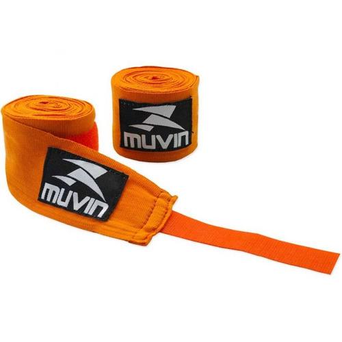 bandagem elástica profissional 3 metros (atadura) boxe muvin