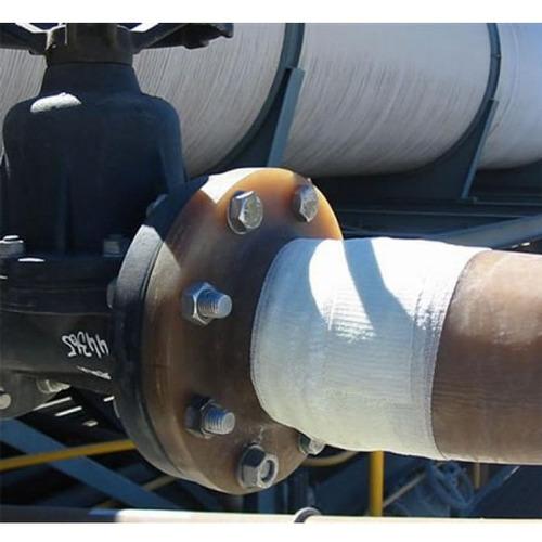bandagem para reparos de vazamentos em tubulações - 10cm