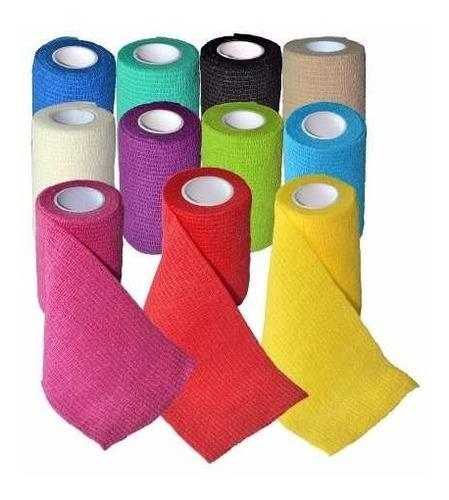 bandagem/atadura elastica flexivel - tipo coban 10cm