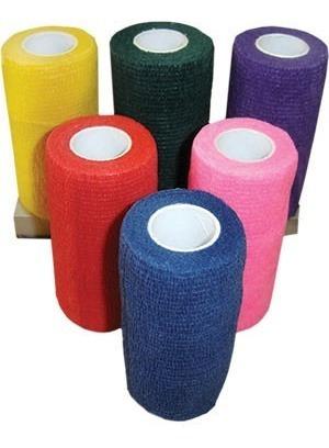 bandagem/atadura elastica flexivel - tipo coflex 10cm 40 un.