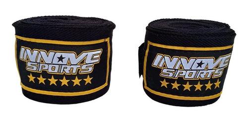 bandagens atadura faixa elástica muay thai boxe innove 3 m