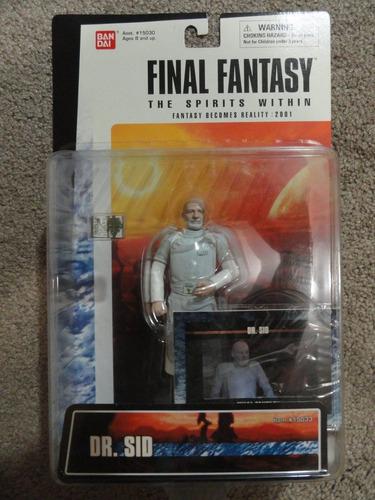 bandai dr. sid final fantasy the spirit within