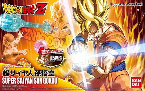 bandai figure-rise standard dragon ball z super saiyan goku