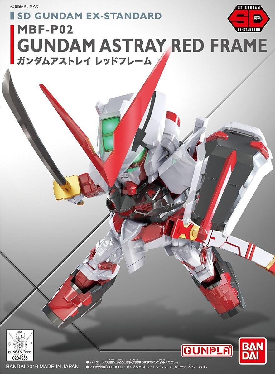Bandai Hobby Sd Ex-007 Estándar Astray Marco Rojo Gundam Se ...