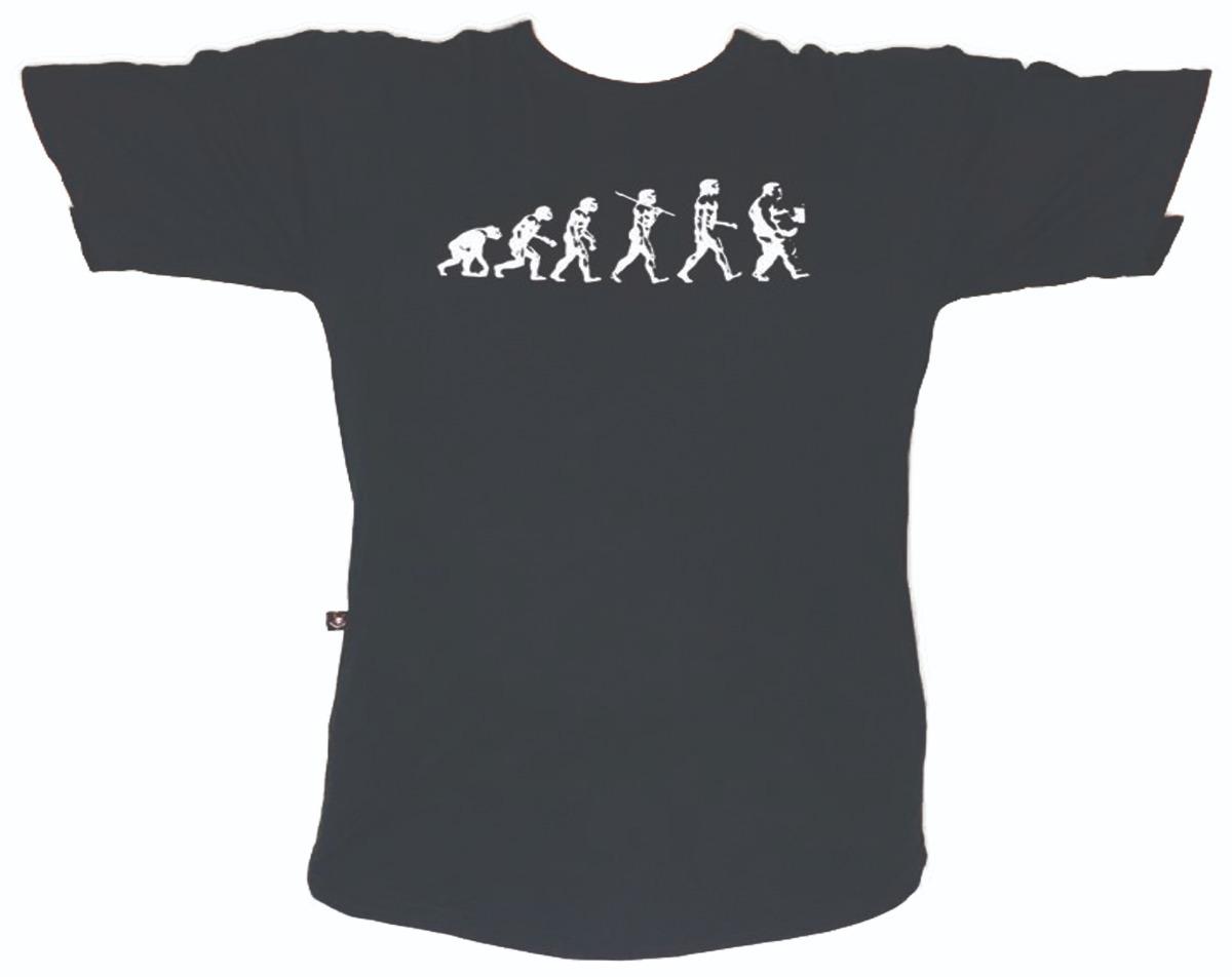 Bandalheira - Rock - Banda - Camiseta Evolução Do Gordo 2602 - R  44 ... 6a72dacc0ea54