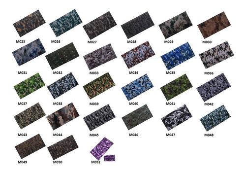 bandana balaclava bufanda pañoleta tubular calavera militar