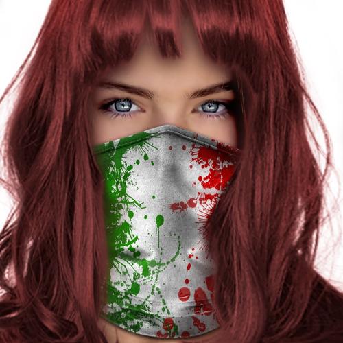 bandana balaclava lenço bandeira italia pesca metal 004