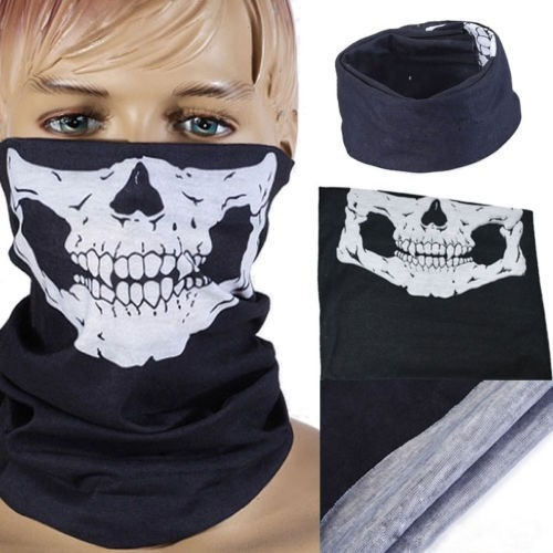 Bandana Caveira Touca Balaclava Mascara Paintball Adventure - R  23 ... 489a2283921