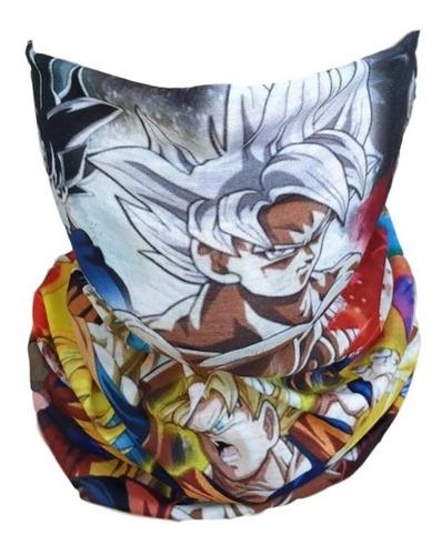 bandana dragon ball goku tubular mascara para el frio