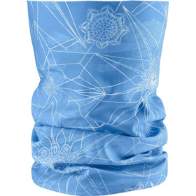 Bandana Femenina Salomon - Necktube Snow Azul - Running
