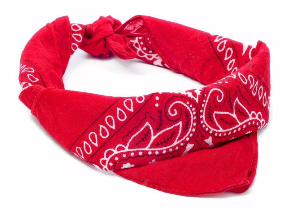 bandana lenço vermelho. Carregando zoom. 2baf1a6773a
