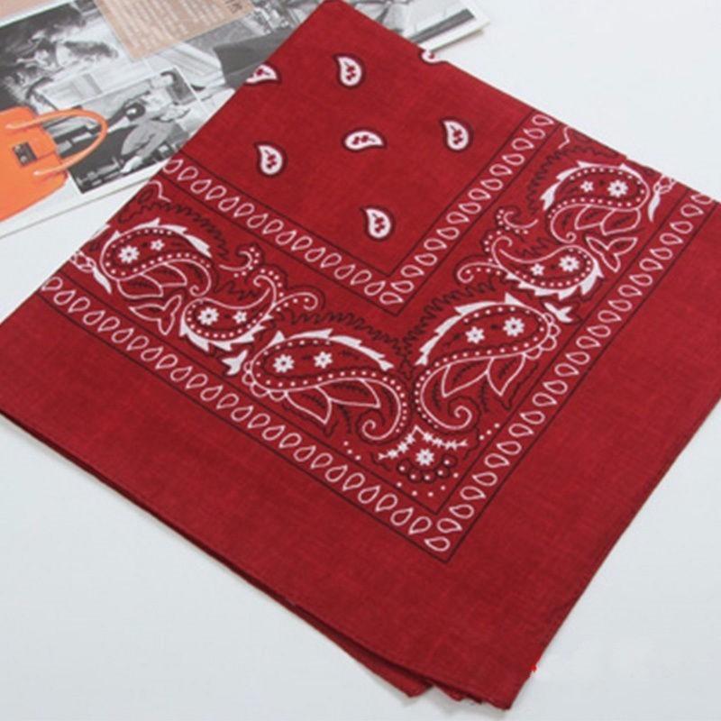bandana lenço vermelho rock 100% algodão faixa. Carregando zoom. 02c940575b3