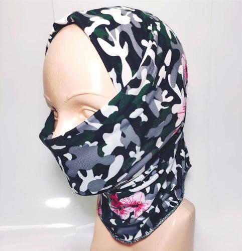 bandana mascara bufanda moto motociclista tactico erdl flor