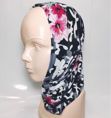 bandana mascara bufanda motociclista tactico erdl flor envío