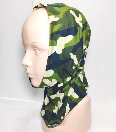 bandana mascara bufanda motociclista tactico green wood env