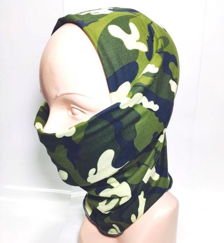 bandana mascara bufanda motociclista tactico green woodland